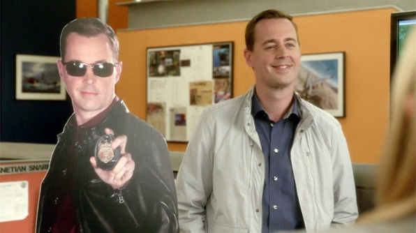 McGee and Palmer pranked DiNozzo. Hard.