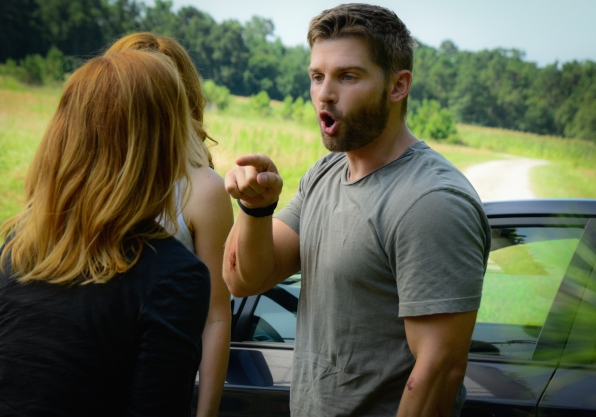 "Mike Vogel as Dale ""Barbie"" Barbara."