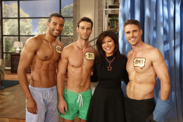 "2. Hanging out with ""TPIR"" male models."
