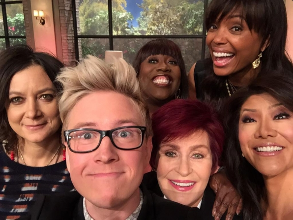 2. Tyler Oakley Stopped By.