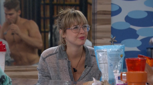 2. She thinks her goofy glasses are the reason why the Houseguests call her #GrandmaMeg.