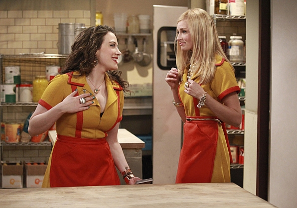 Kat Dennings and Beth Behrs, 2 Broke Girls
