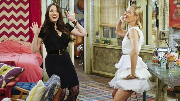4. Max and Caroline From 2 Broke Girls