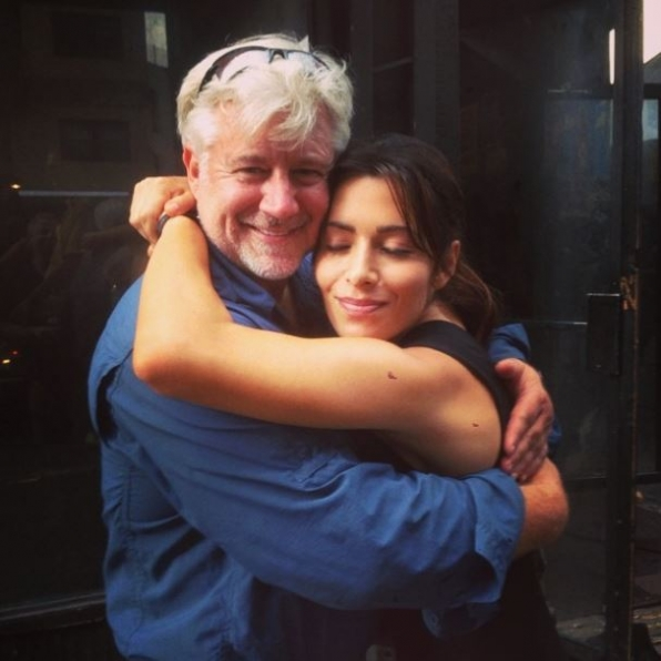 13. Hugs with the Person Of Interest Crew