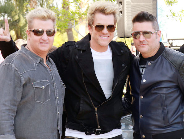 16. The men in Rascal Flatts prove you don't have to be siblings to make an awesome family band.