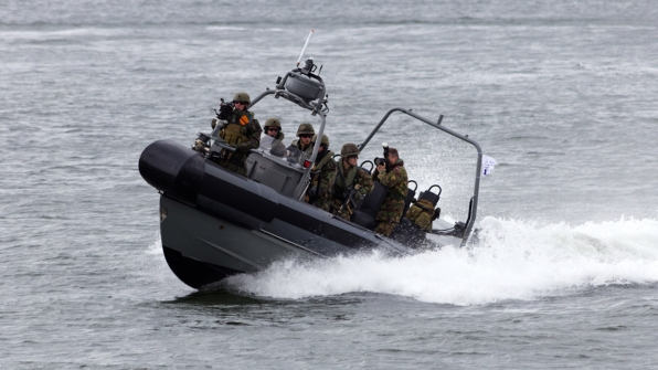 Military speedboat