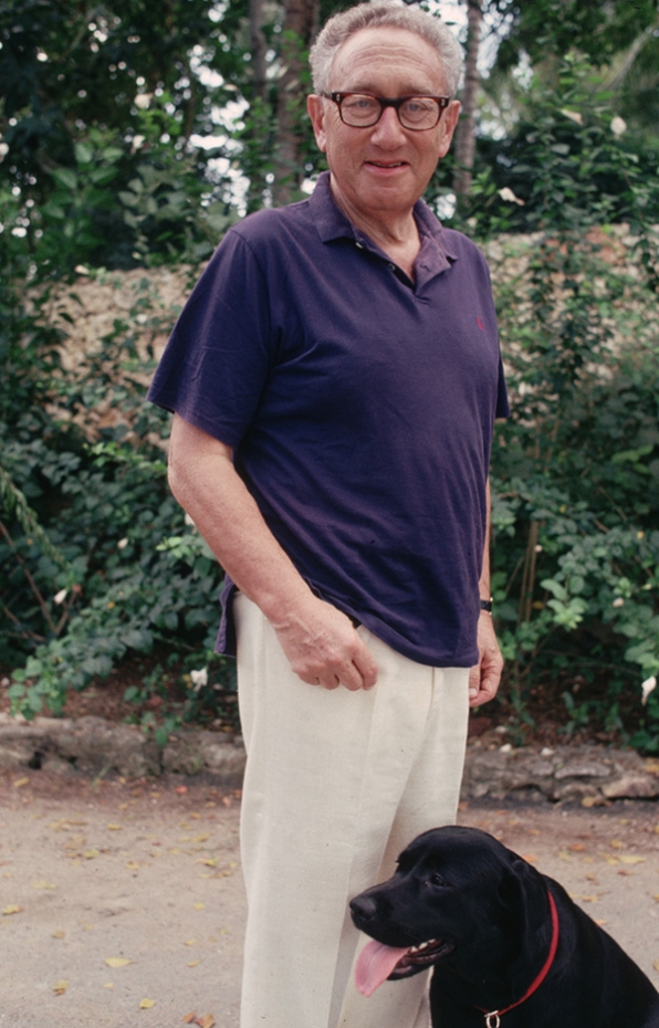8. What makes Henry Kissinger smile?