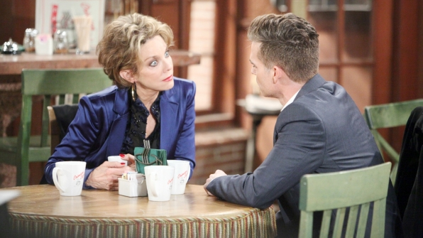 Kevin shares upsetting news with Gloria.