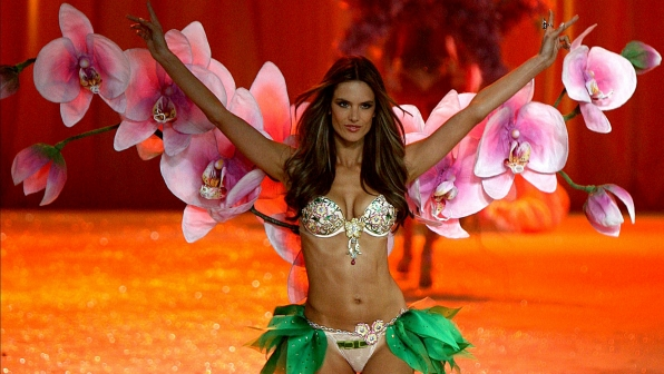 Alessandra Ambrosio fully bloomed in 2012.