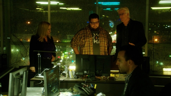 Patricia Arquette as Avery Ryan, Charley Koontz as Daniel Krumitz, and Ted Danson as D.B. Russell