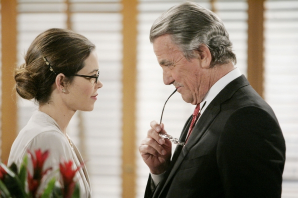 Victoria and Victor Newman