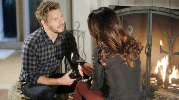 Star-crossed lovers Steffy and Liam delight in the bliss of being reunited and vow this time is forever.