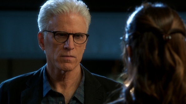 "Ted Danson on Season 13 Episode 18 ""Sheltered"""