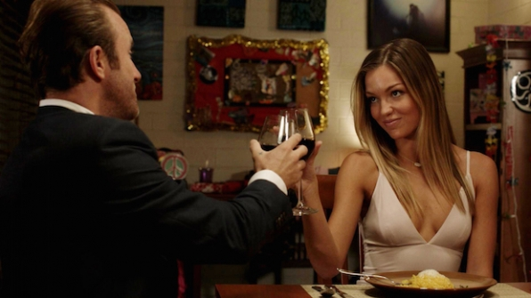 "Scott Caan as Danny ""Danno"" Williams and Lili Simmons as Melissa Armstrong"