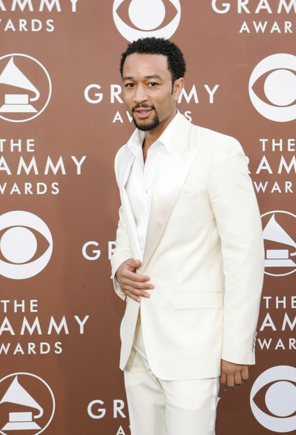 8. John Legend in white