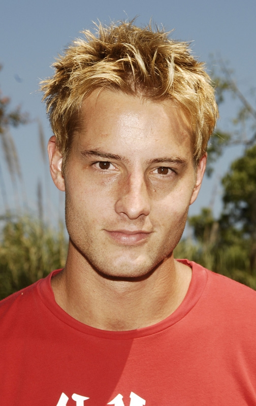 12. He pulled off the frosted tip trend