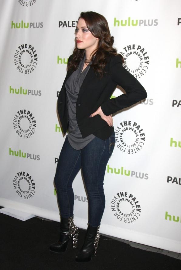 19. She understands that a black carpet needs studded heels