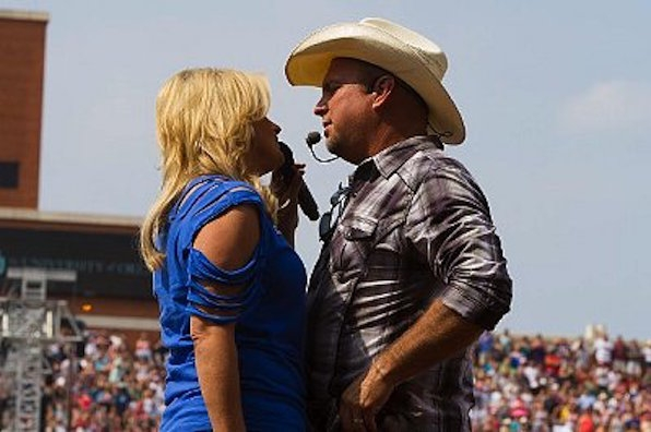 18. Garth's daughter is named after one of the greats.