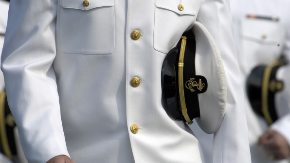 The Naval Academy's song is over 100 years old.