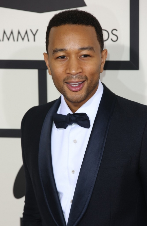 9. John Legend in black