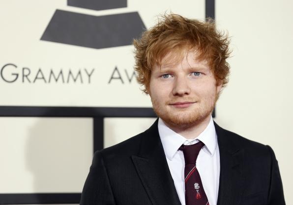 9. Ed Sheeran