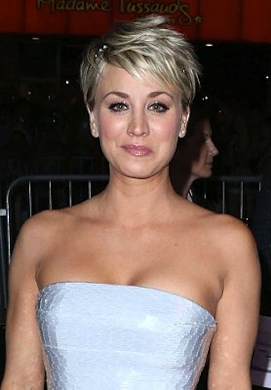 1. We love Kaley's hair. Serious tress envy!