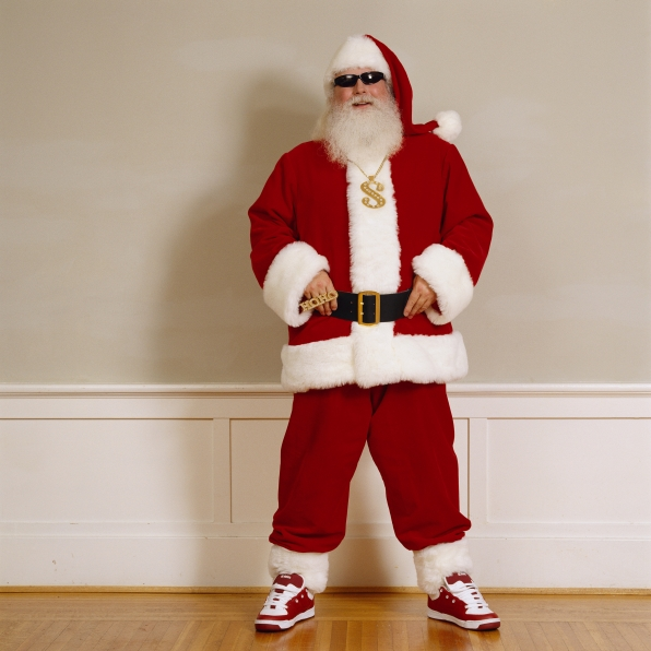 We're not saying that Santa can't still be cool...