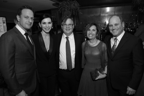 CBS Golden Globe Pre-Party