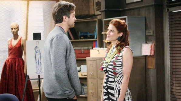 Much to Saul's chagrin, Sally decides to take Thomas up on his offer and books a cheap plane ticket Down Under.