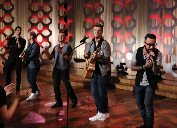 The Backstreet Boys On THE TALK.