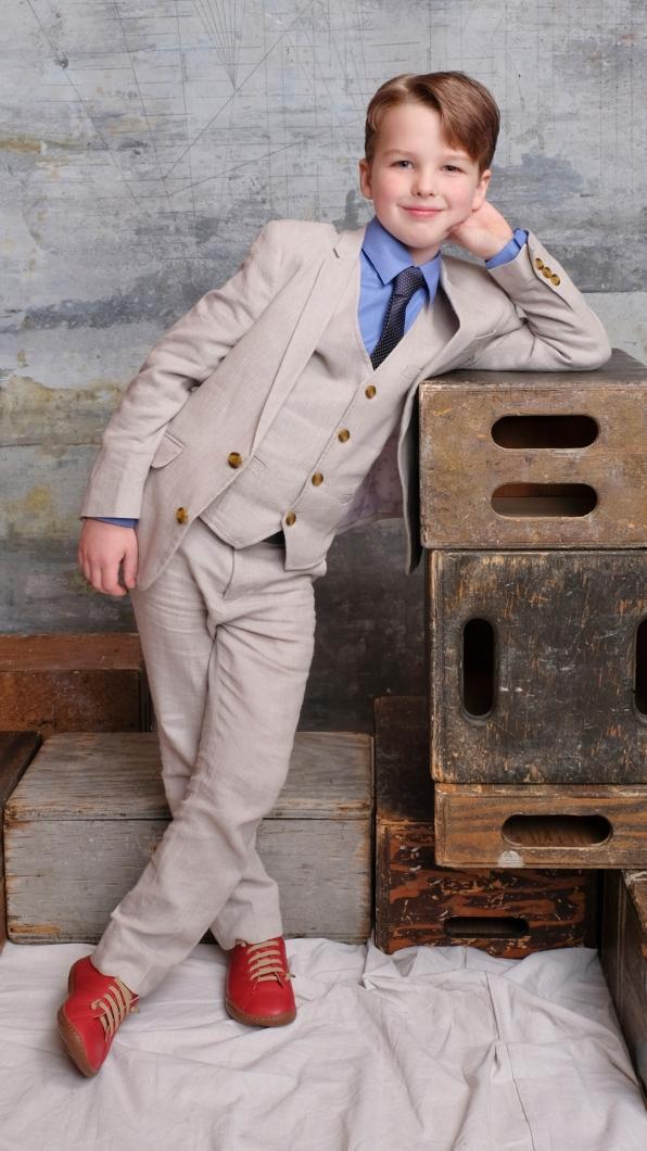 Iain Armitage of Young Sheldon