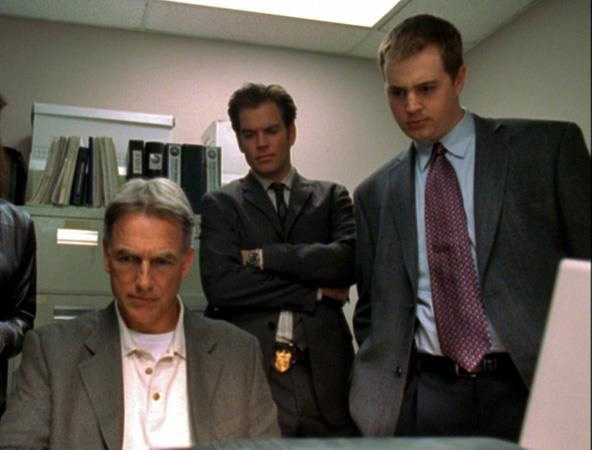 Mark Harmon, Michael Weatherly, and Sean Murray, NCIS