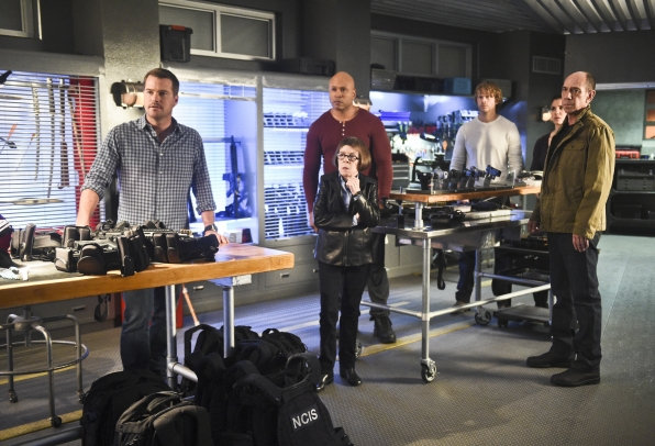 "Chris O'Donnell as Special Agent G. Callen, LL COOL J as Special Agent Sam Hanna, Linda Hunt as Henrietta ""Hetty"" Lange, Eric Christian Olsen as LAPD Liaison Marty Deeks, Daniela Ruah as Special Agent Kensi Blye, and Miguel Ferrer as NCIS Assistant Direct"