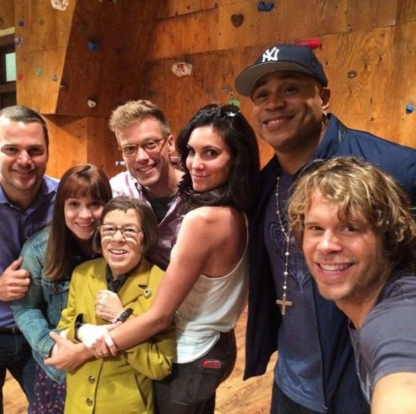 NCISLA Instagram: Family + Selfie = Felfie??? Last week on set! - @ericcolsen