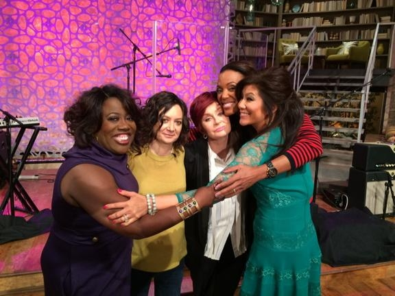1. The ladies celebrated #NationalHugDay!