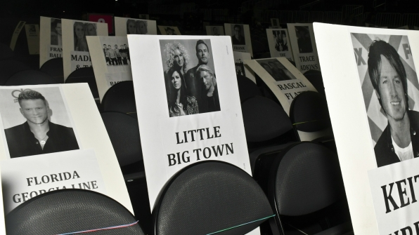 Florida Georgia Line is sitting next to Little Big Town? That's going to be one heck of a party!