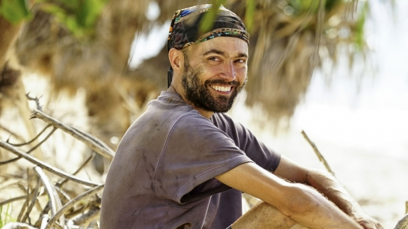Unwashed castaway: David Wright