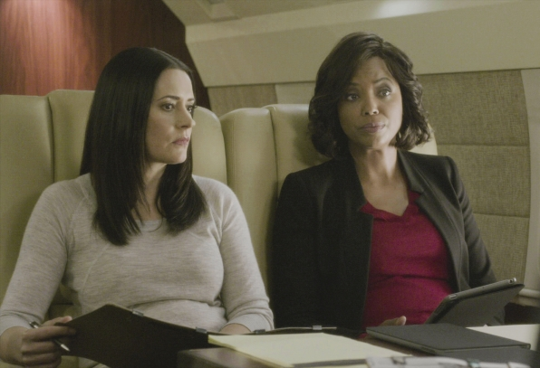 Prentiss and Lewis explore possibilities on the jet.