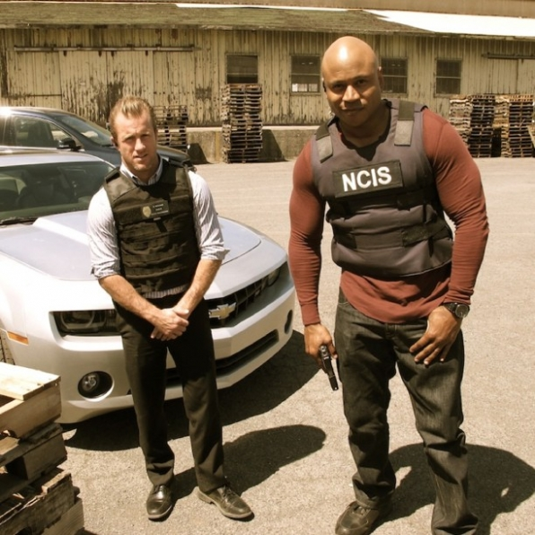 Scott Caan and LL Cool J