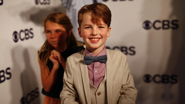 The adorable Iain Armitage is a perfect Young Sheldon.