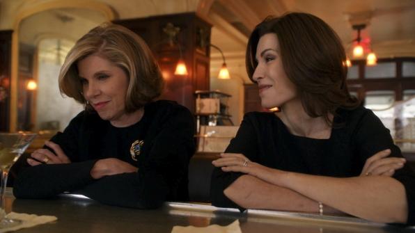 "Diane and Alicia in ""A Material World"" S5E17"
