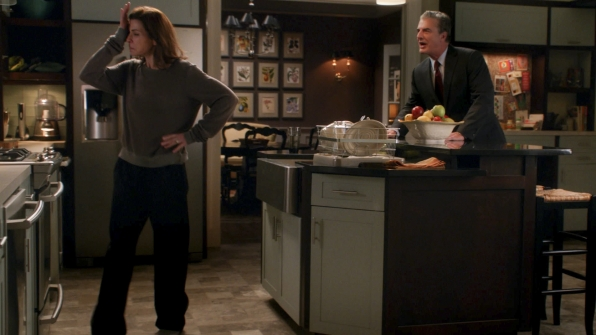 "Alicia and Peter in ""A Material World"" S5E17"