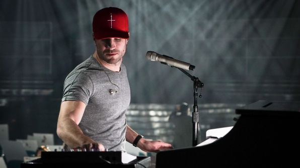 Sam Hunt impresses during rehearsals