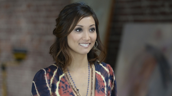 "Brenda Song in ""Bite Flight Wing-Man Bonnie"""