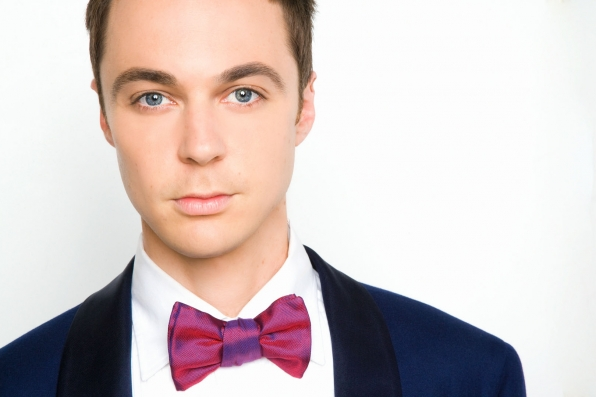 Jim Parsons goes glam