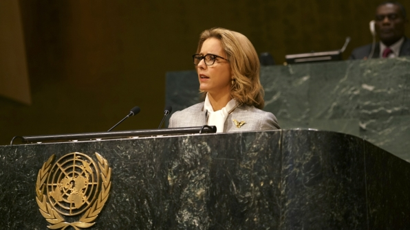 Bess rallied members of the United Nations to join the fight against terrorism.