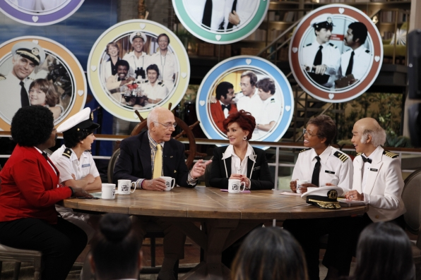 "The Ladies With The Cast Of ""The Love Boat."""