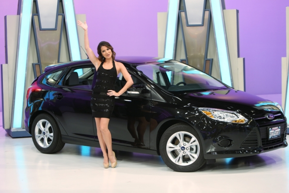 Melissa Rycroft with Ford