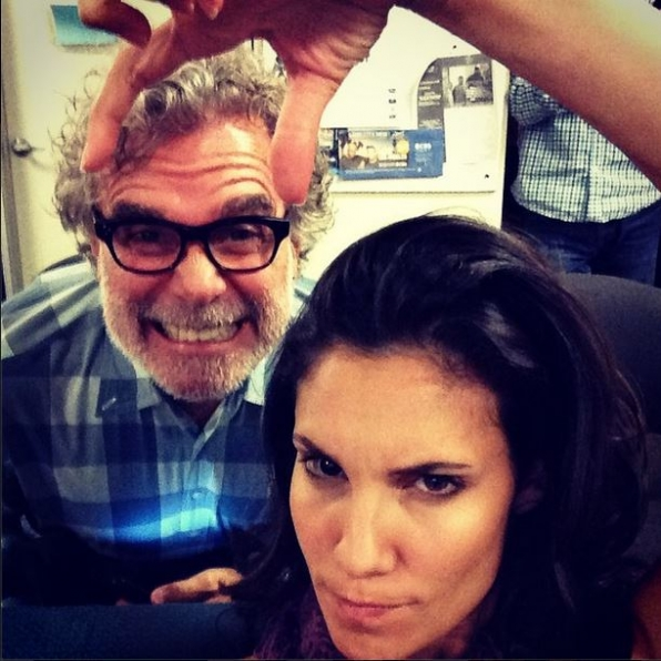 John Peter Kousakis and Daniela Ruah - NCIS: Los Angeles