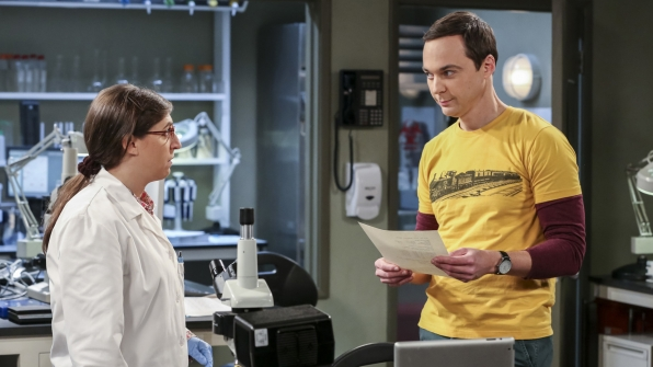 The wheels start turning in Sheldon's head.